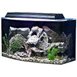 SeaClear 36 gal Bowfront Acrylic Aquarium Combo Set