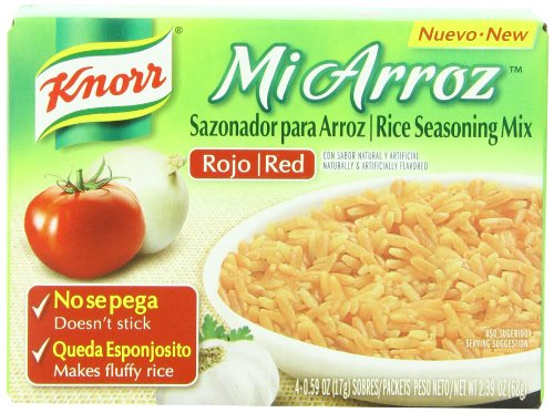 UPC 885777249728, Knorr Mi Arroz Rice Seasoning Mix, Red, 0.23 Pound (Pack of 24)