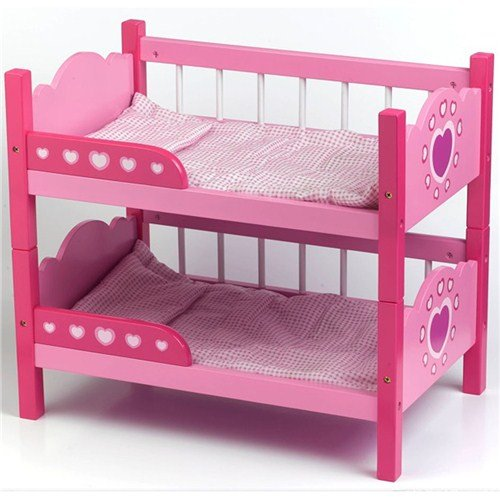 Dolls World Wooden Bunk Beds Amazon Toys & Games