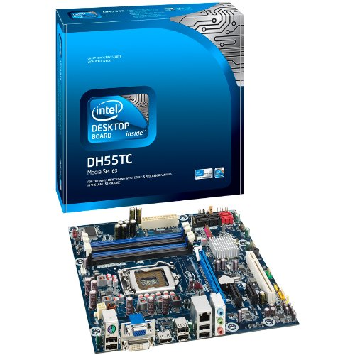 Intel Socket 1156/Intel H55/MATX Motherboard, Retail BOXDH55TC (4 Threading Hyper Pentium)