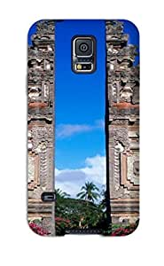 Awesome Bali Panorama Flip Case With Fashion Design For Galaxy S5