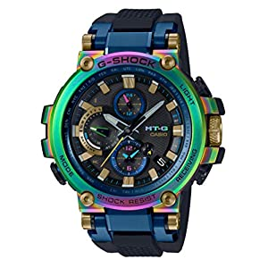 51lRyxFT82L. SS300  - CASIO G-SHOCK MTG-B1000RB-2AJR MT-G 20th Anniversary Limited Edition Wristwatch Lunar Rainbow (Japan Domestic Genuine…