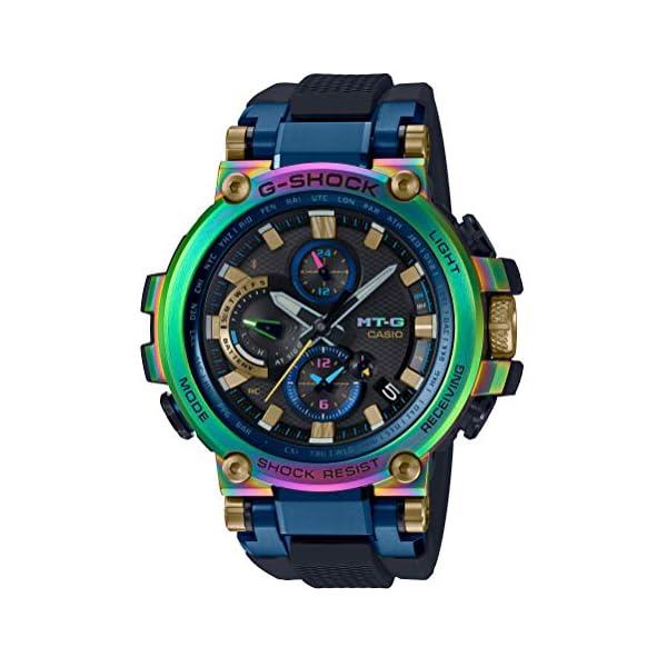 51lRyxFT82L. SS600  - CASIO G-SHOCK MTG-B1000RB-2AJR MT-G 20th Anniversary Limited Edition Wristwatch Lunar Rainbow (Japan Domestic Genuine…
