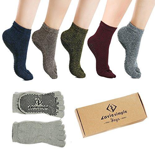 Pilates Socks Barre Grips Women
