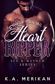 Heart Ripper Coffin motorcycle romance ebook product image