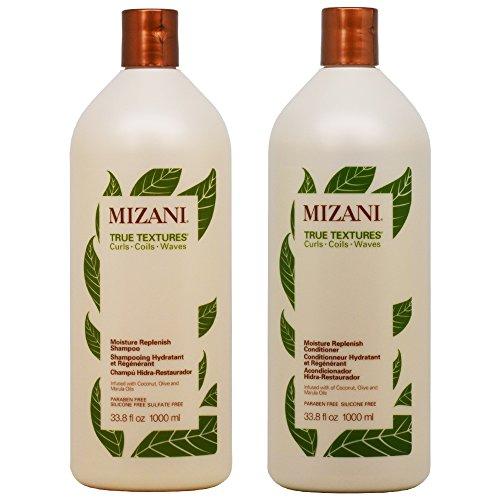 True Curls Shampoo (Mizani True Textures Shampoo & Conditioner 33.8oz Duo)