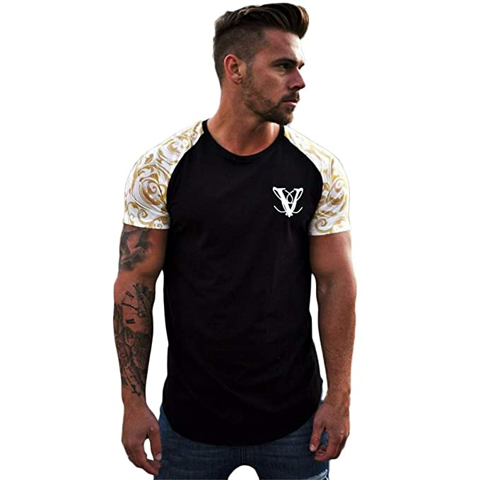 Amazon.com: MILIMIEYIK - Camiseta de gimnasio para hombre ...