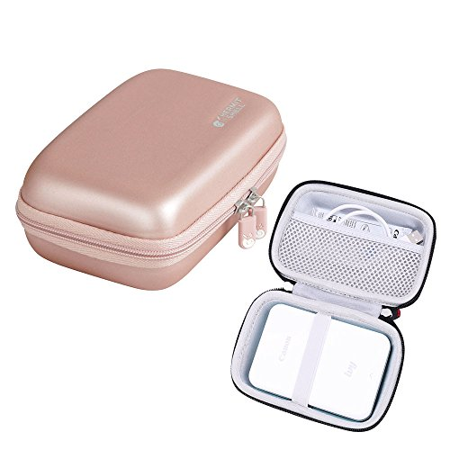 Hermitshell Hard Travel Case for fits Canon Ivy Wireless Bluetooth Mobile Portable Mini Photo Printer (Rose Gold)