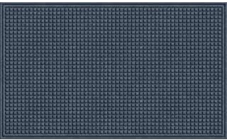 product image for Apache Mills EcoMat Squares Entrance Door Mat, 3-feet by 5-Feet, Slate Gray
