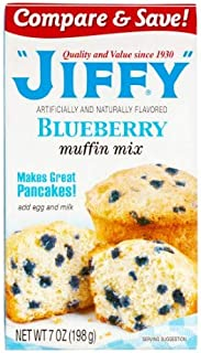product image for Jiffy Blueberry Muffin Mix, 7 OZ (Pack of 12)