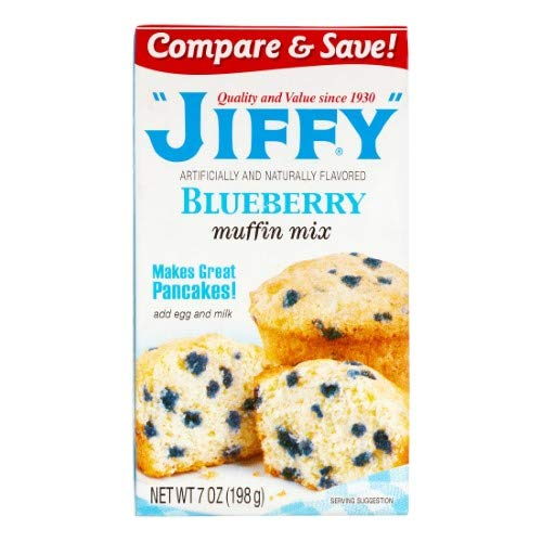Jiffy Blueberry Muffin Mix (Pack of 14)