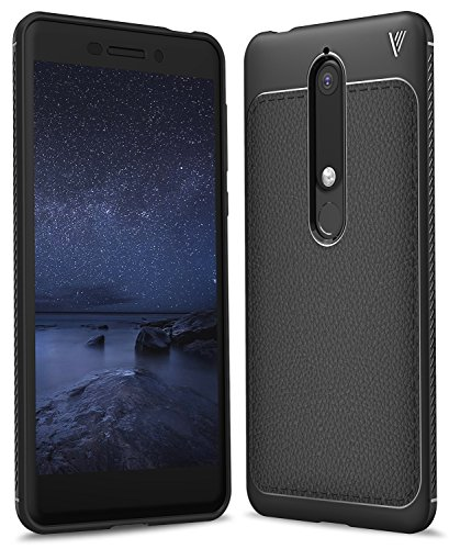 Nokia 6 2018 Case SunStory Luxury TPU Leather...
