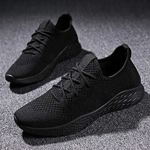di Uomo Alta qualit Scarpe Morbida Sneakers Antiscivolo Traspirante Uomo da Scarpe Sportive ASHOP in Maglia qtBtwCx17O