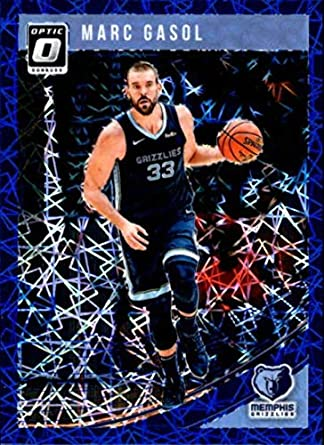 2f5d9e20813e 2018-19 Donruss Optic Blue Velocity  144 Marc Gasol Memphis Grizzlies NBA  Basketball Trading