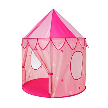 Bonabon Princesse Tente de Jouet, Princesse Château Tente Pop Up Tente  Maison de Jouet et Maison de Jardin pour Les Filles (#2)