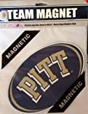 Fremont Die NCAA Pittsburgh Panthers 8'' Vinyl Magnet, One Size, Multicolor