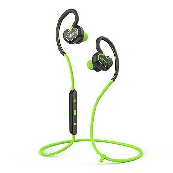 Auriculares Bluetooth, V4.1 inalámbrico Sport auriculares estéreo con micrófono para Correr, Gimnasio