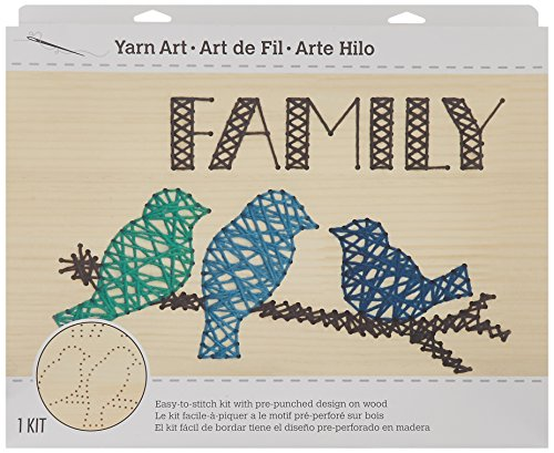 Dimensions Crafts 72-74209 Yarn Art Family by Dimensions Crafts