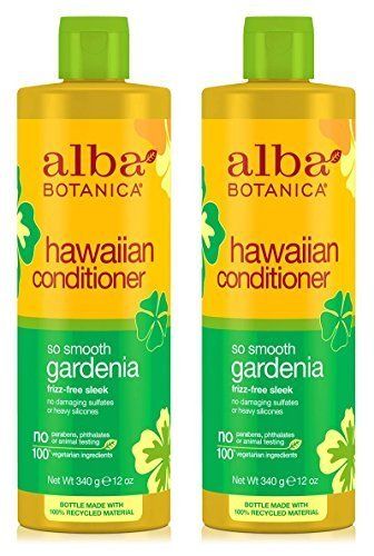 (Hawaiian Conditioner So Smooth Gardenia (Pack of 2) With Sunflower, Jojoba, Aloe Vera, Pineapple. Papaya, Ginger, Linalool, Moluccana Seed, Macadamia Seed and Soy, 12. oz. each)