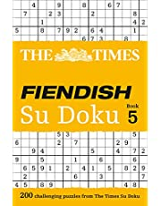 The Times Fiendish Su Doku Book 5: 200 Challenging Puzzles from the Times