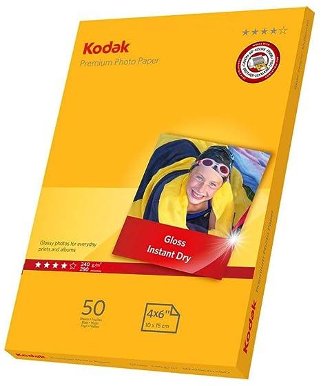 Amazon.com: Kodak Premium Papier photo pour impression jet d ...