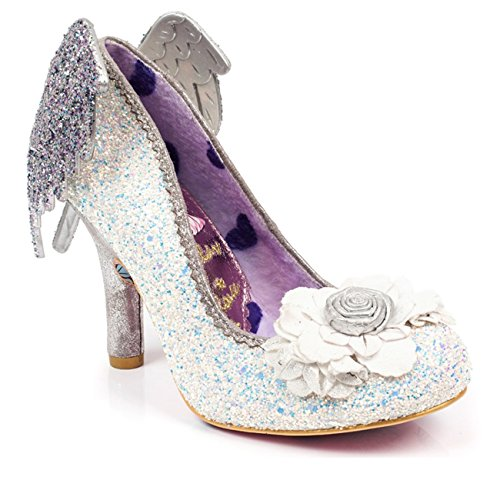Irregular Choice Icarus Glitter Pump With Wings