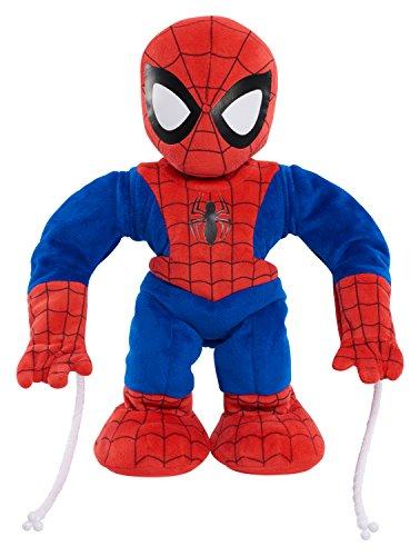 Marvel Swing & Sling Spiderman Plush