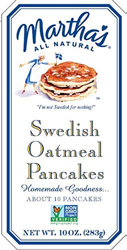 (Martha Martha Swed Oatmeal Panc 10 oz (Pack Of 6))