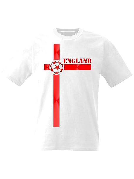 Camiseta de fútbol de Inglaterra Cruz de San Jorge