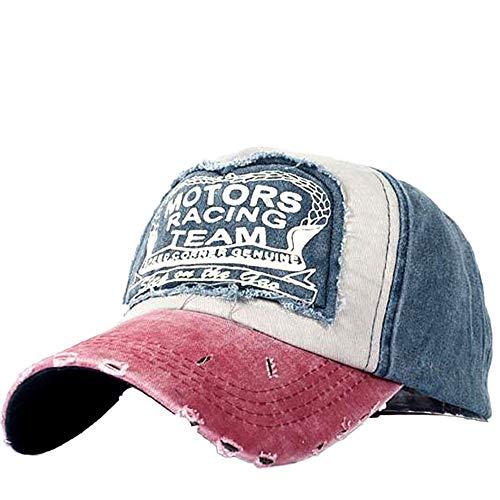 Baseball Cap for Men and Women,Unisex Vintage Baseball Cap Denim Hat Adjustable Washed Dyed Cotton Dad Caps Yamally