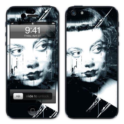 Diabloskinz B0081-0034-0029 Vinyl Skin für Apple iPhone 5/5S Revenge