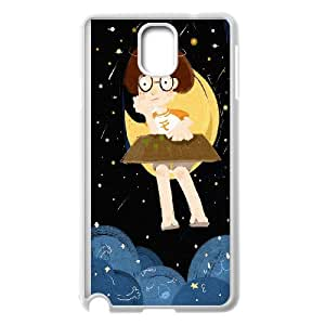Good Night Moon Pattern Hard Case Cover Back Skin Protector for Samsung Galaxy Case Note 4 TSL321847