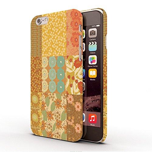 Koveru Back Cover Case for Apple iPhone 6 - Yellow Orange Pattern