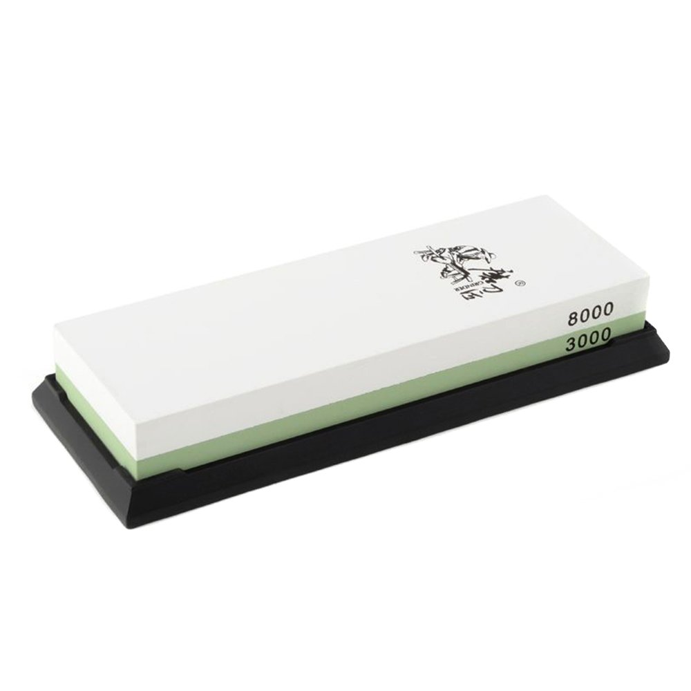 Double sided whetstone grit 3000/8000 - Combination sharpening stone Taidea T0914W