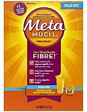 Metamucil 3 in 1 MultiHealth Fibre! Sugar-Free Fiber Suplement Powder