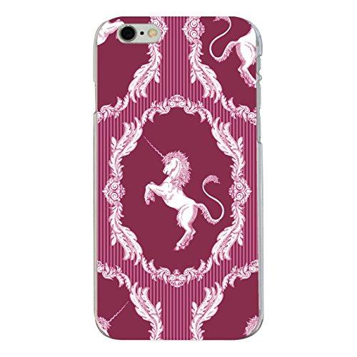 """Disagu SF-sdi-4337_1130#zub_cc6149 Design Schutzhülle für Apple iPhone 6S Plus - Motiv """"klassisches Einhorn Streifenmuster pink"""""""
