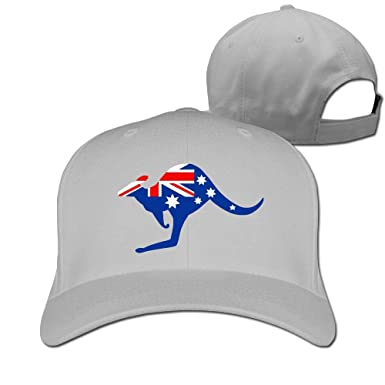 Pimkly Unisexo Sombreros/Gorras de béisbol, Australian Kangaroo ...