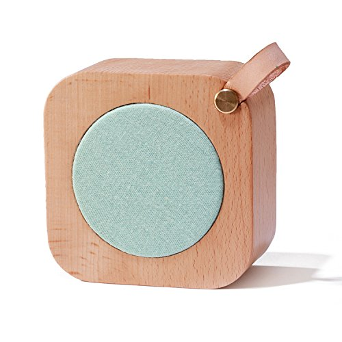 Aiweasi Simple Wooden Music Box For College Graduation Souvenir With Music of Castle in the Sky-Sky Blue by Aiweasi (Image #5)