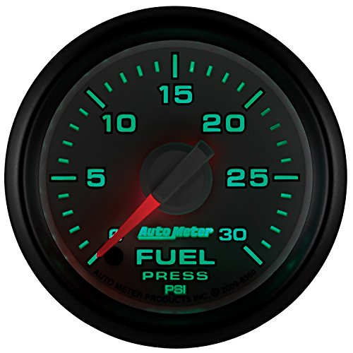 Auto Meter 8560 Factory Match 2-1/16'' 0-30 PSI Fuel Pressure for Dodge by Auto Meter