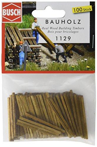 (Busch 1129 Wooden Building Lumber HO Scenery Scale Model Scenery )