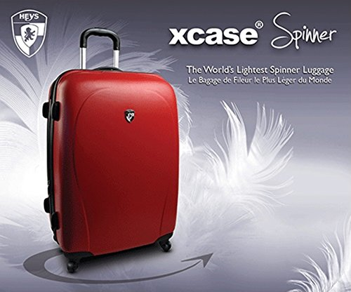 Heys - Core XCase Spinner Rot Trolley mit 4 Rollen Medium