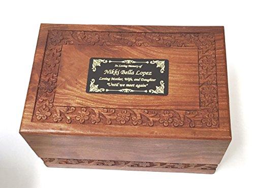 wood ash urn - 4