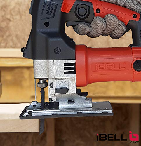 IBELL Professional JIG Saw with LED, 700W, Carrying Case, 3 Blades, 84 Inches Cord 5