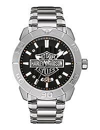 Harley Davidson Embossed Bar & Shield 76B169