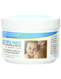 Triple Paste Medicated Ointment for Diaper Rash, 8-Ounce BOBEBE Online Baby Store From New York to Miami and Los Angeles