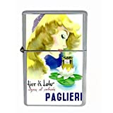 Paglieri Perfume Italy Lovely Dual Torch Lighter D-444