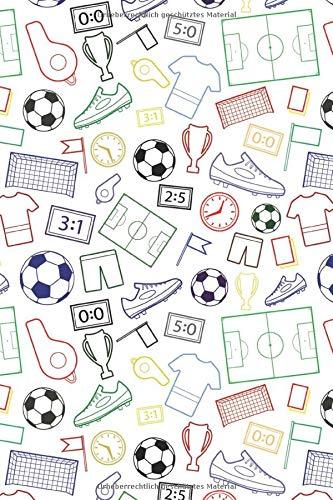 Fussball Muster Torhuter Sturmer Fans Verein 30