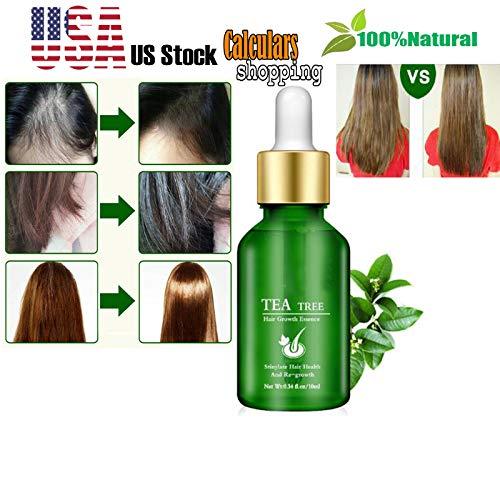 Hair Eyebrow Eyelash Growth Anti-Alopecia Liquid Oil Mild Maintenance Hair Care Essential ()