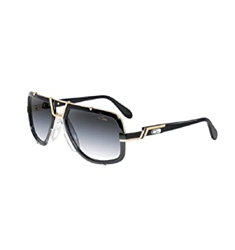 22a07159fbbe50 lunettes de soleil Cazal 656 couleur noir 3 made in germany  Amazon ...