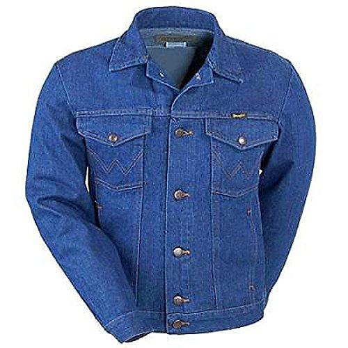 Unlined Jean Jacket - Lg Men's Unlined Denim Jacket